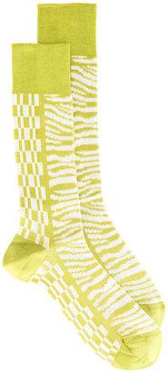 Haider Ackermann printed socks $88.33 thestylecure.com