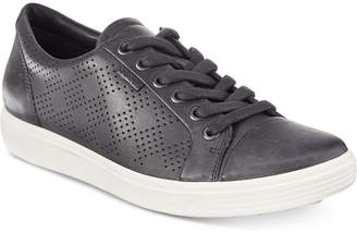 Ecco Women's Soft 7 Perforated Lace-Up Sneakers Women's Shoes