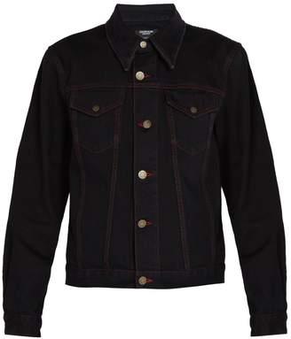 Calvin Klein Andy Warhol cotton denim trucker jacket