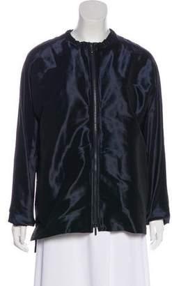Max Mara 'S Iridescent Bomber Jacket