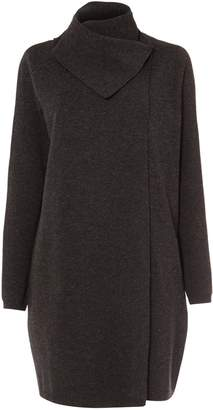 Next Womens Phase Eight Charcoal Paloma Knit Coat