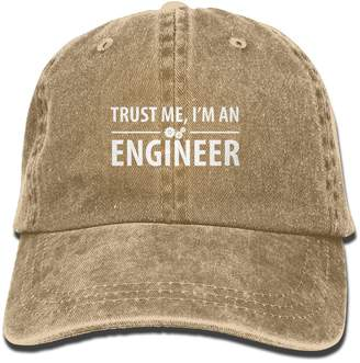 Alility Caps Trust Me I'm an Engineer Cotton Adjustable Cowboy Hat Baseball Cap ForAdult