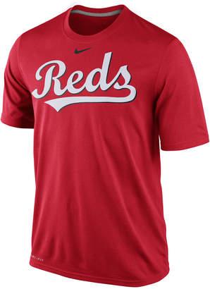 Nike Men Cincinnati Reds Legend Wordmark T-Shirt