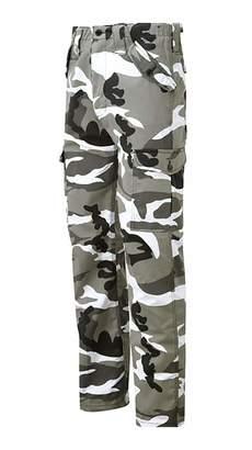 My Choice Stuff Adults Fancy Novelty Combat Work Wear Multi Pocket Pants Unisex Cargo Style Casual Trouser