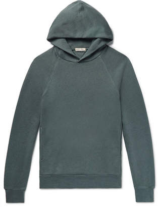 Alex Mill Mélange Slub Loopback Cotton-Jersey Hoodie