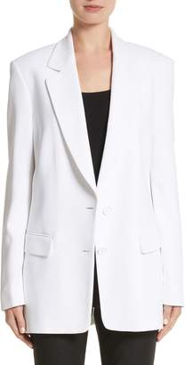 Michael Kors Double Crepe Sable Jacket