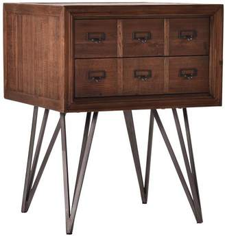 Alliance Furniture Apothecary Side Table