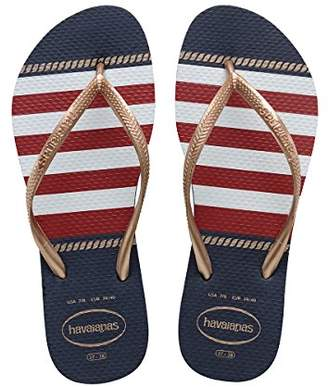 Havaianas Women's Slim Nautical Sandal Flip Flop