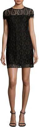 Supply & Demand Women's Floral Lace Shift Dress