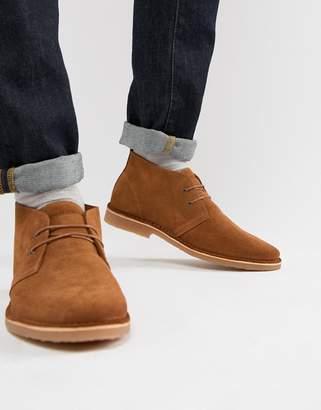 Jack and Jones suede desert boots
