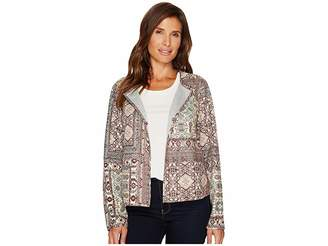 Tribal Reversible Suede Jacket Women's Coat