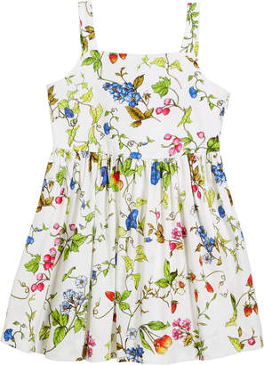 Milly Minis Emaline Floral-Print Dress, Size 4-7