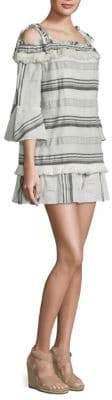 Rachel Zoe Covie Off-the-Shoulder Bell-Sleeve Dress