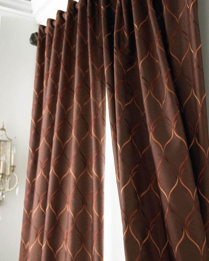 Softline Home Fashions Each 96L Regis Curtain