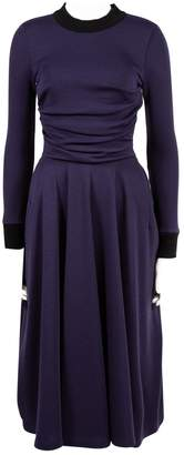 Roksanda Ilincic Purple Wool Dresses