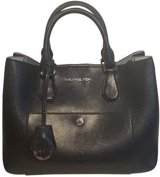 Michael Kors Navy Leather Handbag
