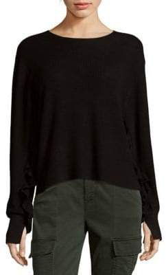 John & Jenn Ripple Sleeve Sweater