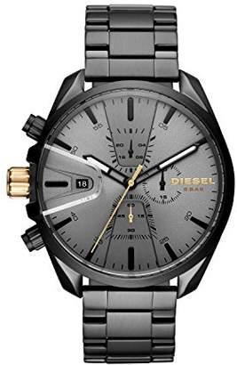 fb50235e96c3 Diesel Men s Chronograph Quartz Watch with Stainless Steel Strap DZ4474