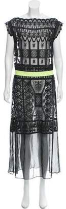 Miguelina Crochet Lace Dress
