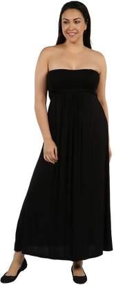 24/7 Comfort Apparel Stop and Stare Plus Size DressCF6042P-L