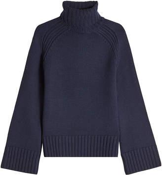 Joseph Sloppy Joe Wool Turtleneck Pullover