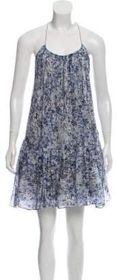 Theyskens' Theory Printed Knee-Length Dress