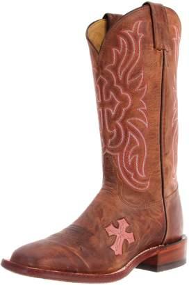 Tony Lama Women's Chocolate Goat Cross TC1005L Boot