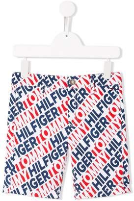 902e39c1de Tommy Hilfiger Junior brand logo shorts