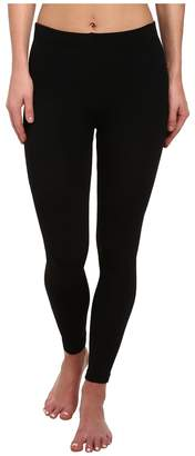 Plush Fleece-Lined Footless Tights Patterned Hose