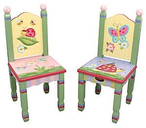 Dacor Teamson Teamson Two-Piece Magic Garden Chairs