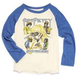 Rowdy Sprout Baby's, Little Boy's& Boy's Tom Petty Raglan Tee