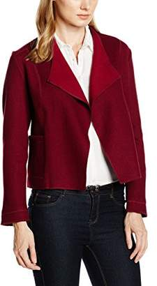 Olsen Women's Cardigan Long Sleeves (Ruby Red)