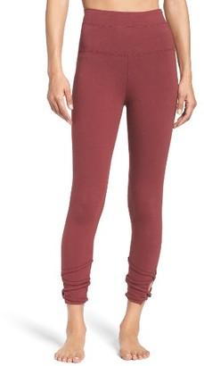 Women's Hard Tail High Waist Crop Leggings $70 thestylecure.com