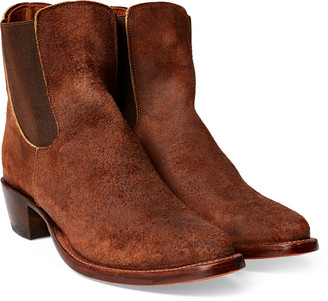 Ralph Lauren Chelsea Plainview Suede Boot