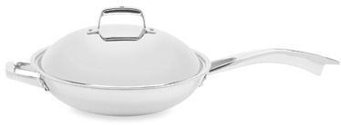 Zwilling J.A. Henckels TruClad 13-Inch Covered Fry Pan with Helper Handle