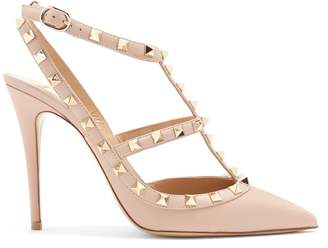VALENTINO Rockstud leather pumps $995 thestylecure.com