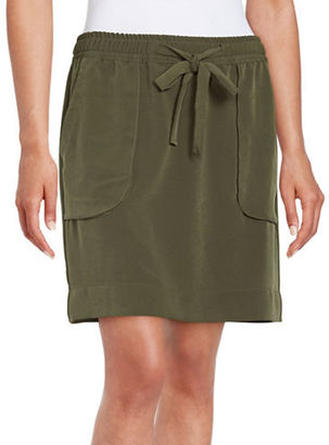 Lord & Taylor Drawstring Skirt $80 thestylecure.com