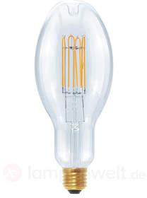 LED Ellipse Curved U E27 10W, warmweiß, dimmbar