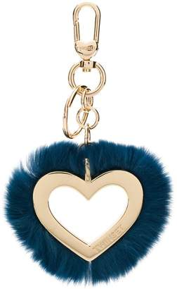 Twin-Set heart outline keyring