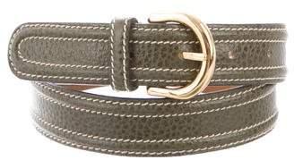 Giorgio Armani Leather Hip Belt