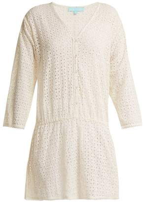 Melissa Odabash Kylie Broderie Anglaise Dress - Womens - Cream