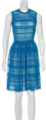 Yigal Azrouel Lace Knee-Length Dress