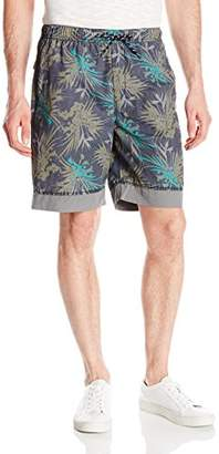 UNIONBAY Men's Printed Pull-On Shorts