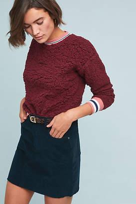 Moulinette Soeurs Striped Sherpa Sweatshirt