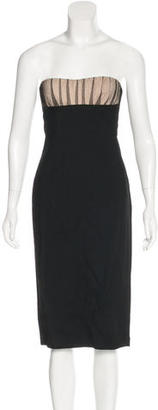 La Perla Sleeveless Knee-Length Dress $325 thestylecure.com