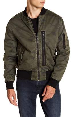 Hudson Knox Twill Bomber Jacket