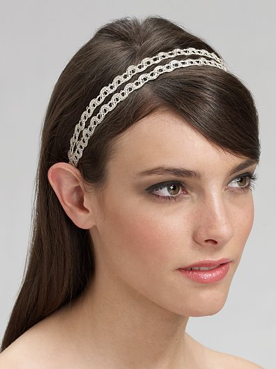 Jennifer Behr Double Row Headband