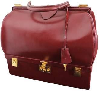 Hermes Leather 24h bag