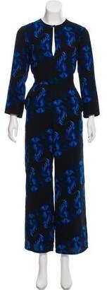 Rachel Comey Printed long Sleeve Jumpsuit