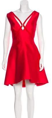 Murad Zuhair Silk Mini Dress